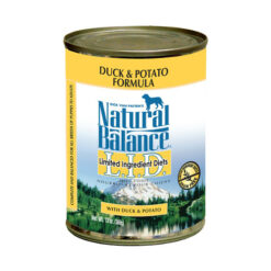 Natural Balance L.I.D. Limited Ingredient Diets® Duck & Potato Canned Dog Food 13oz