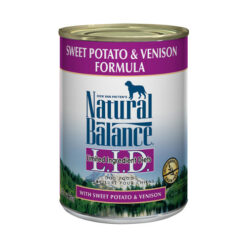 Natural Balance L.I.D. Limited Ingredient Diets® Venison & Sweet Potato Canned Dog Food 13oz