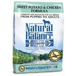 Natural Balance Grain Free L.I.D. Sweet Potato and Chicken Dog Formula