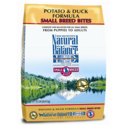 Natural Balance Grain Free L.I.D. Potato and Duck Small Breed Formula