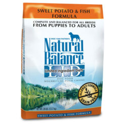 Natural Balance Grain Free L.I.D. Sweet Potato and Fish Dog Formula
