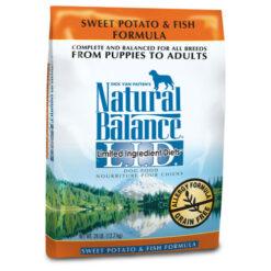 Natural Balance Grain Free L.I.D. Sweet Potato and Fish Dog Formula