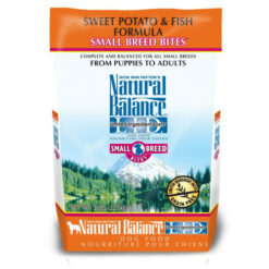 Natural Balance Grain Free L.I.D. Sweet Potato and Fish Small Breed Formula