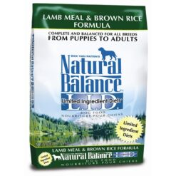 Natural Balance L.I.D. Lamb Meal and Brown Rice Dog Formula
