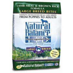 Natural Balance L.I.D. Lamb Meal and Brown Rice Large Breed Formula