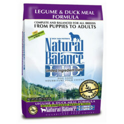 Natural Balance Grain Free L.I.D. Legume and Duck Meal Dog Formula
