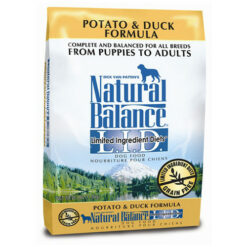 Natural Balance Grain Free L.I.D. Potato and Duck Dog Formula