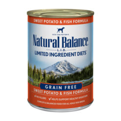 Natural Balance L.I.D. Limited Ingredient Diets® Sweet Potato & Fish Canned Dog Food