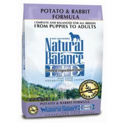 Natural Balance Grain Free L.I.D. Potato and Rabbit Dog Formula