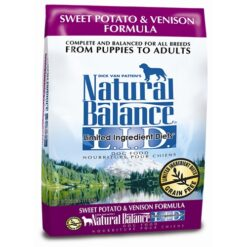 Natural Balance Grain Free L.I.D. Sweet Potato and Venison Dog Formula