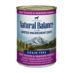 Natural Balance L.I.D. Limited Ingredient Diets® Venison & Sweet Potato Canned Dog Food