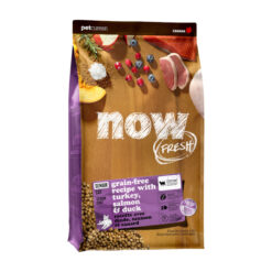 NOW! FRESH Grain Free Senior Recipe Dry Cat Food