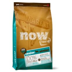 NOW! FRESH Grain Free Large Breed Senior Dog Dry Recipe