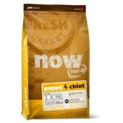 NOW! FRESH Grain Free Puppy Recipe Dry Food
