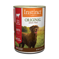 Nature's Variety Instinct Grain Free Beef Formula Canned Dog Food