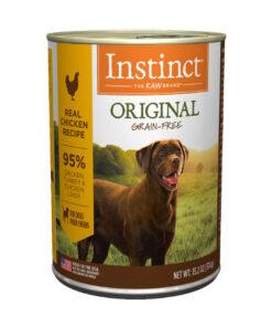 Nature's Variety Instinct Grain-Free Chicken Formula Canned Dog Food