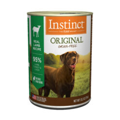 Nature's Variety Instinct Grain Free Lamb Formula Canned Dog Food