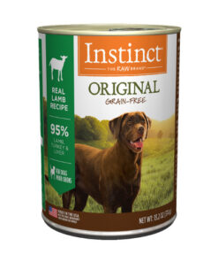 Nature's Variety Instinct Grain Free Lamb Formula Canned Dog Food