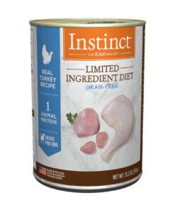 Nature's Variety Instinct Limited Ingredient Turkey Formula Canned Dog Food