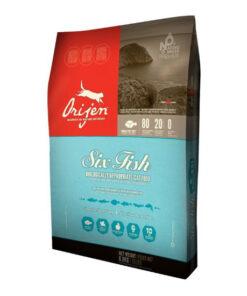 Orijen 6 Fish Dry Cat Food
