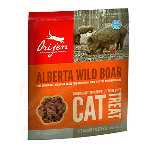 Orijen Alberta Wild Boar Freeze-Dried Cat Treats