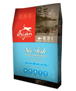 Orijen 6 Fish with Sea Vegetables Dog Dry Formula