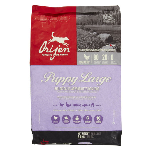 Orijen Large Breed Puppy Dry Formula Dog Food Champlain Pets