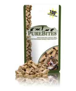 PureBites Beef Liver Freeze-Dried Cat Treats