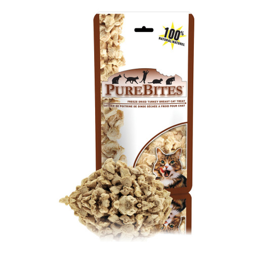PureBites Turkey Breast Freeze-Dried Cat Treats