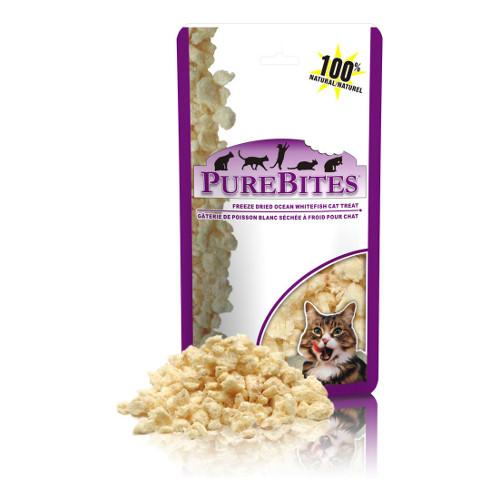 PureBites Ocean Whitefish Freeze-Dried Cat Treats