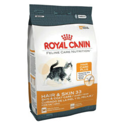 Royal Canin Feline Care Nutrition Hair and Skin 33 Dry Cat Food