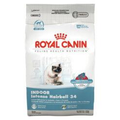 Royal Canin Feline Health Nutrition Indoor Intense Hairball 34 Dry Cat Food