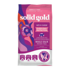 Solid Gold Katz-n-Flocken Lamb & Brown Rice Recipe with Pearled Barley Whole Grain Dry Cat Food