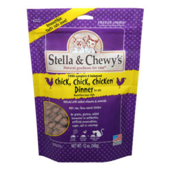Stella & Chewy's Freeze-Dried Chick Chick Chicken Cat Dinner