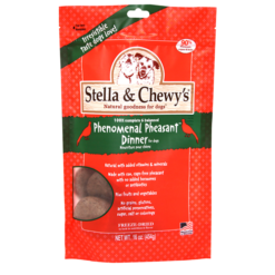 Stella & Chewy's Freeze-Dried Phenomenal Pheasant Dog Dinner