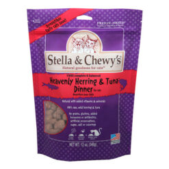 Stella & Chewy's Freeze-Dried Heavenly Herring and Tuna Cat Dinner