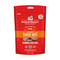 Stella & Chewy's Stella's Super Beef Dinner Patties Freeze-Dried Raw Dog Food