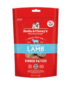 Stella & Chewy's Dandy Lamb Dinner Patties Freeze-Dried Raw Dog Food