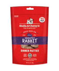Stella & Chewy's Absolutely Rabbit Dinner Patties Freeze-Dried Raw Dog Food
