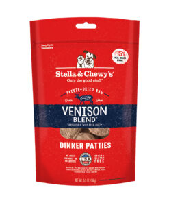 Stella & Chewy's Venison Blend Dinner Patties Freeze-Dried Raw Dog Food