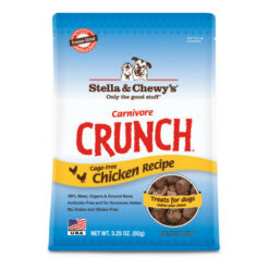 Stella & Chewy's Carnivore Crunch Cage-Free Chicken Recipe Freeze-Dried Dog & Cat Treats