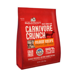 Stella & Chewy's Carnivore Crunch Grass-Fed Beef Recipe Freeze-Dried Raw Dog Treats