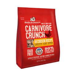 Stella & Chewy's Carnivore Crunch Cage-Free Chicken Recipe Freeze-Dried Raw Dog Treats