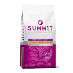 SUMMIT Original Three Meat Indoor Cat Food Recipe Dry Food