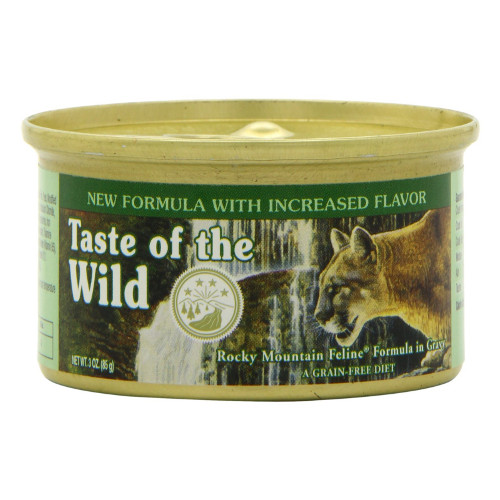 Taste of the Wild Rocky Mountain Formula Canned Cat Food