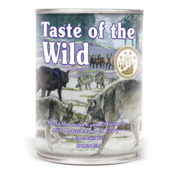 Taste of the Wild Sierra Mountain Canned Dog Food