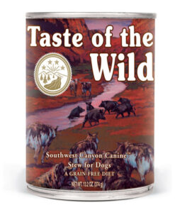 Taste of the Wild Southwest Canyon Formula with Wild Boar Canned Dog Food