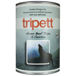 Tripett Green Beef Tripe and Venison Canned Dog Food
