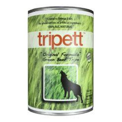 Tripett Orginial Formula Green Beef Tripe Canned Dog Food