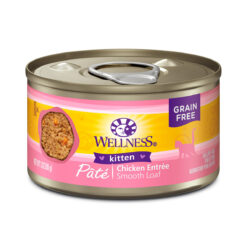Wellness Pate Chicken Entree Kitten Canned Food